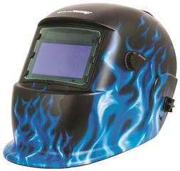 NEW FORNEY 55679 AUTO DARKENING ICE DESIGN AND LOGO WELDING