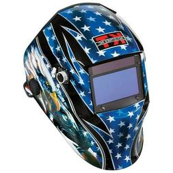 "NEW KT Industries ""Patriotic"" Auto Darkening Welding Helmet"