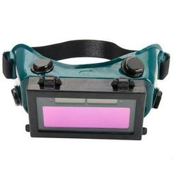 Pro Solar Powered Auto Darkening Welding Eyeshade Filter Len