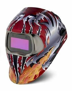 3M Speedglas Razor Dragon Welding Helmet 100 with Auto-Darke