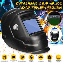 solar auto darkening welding helmet large view