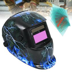 Solar Auto Darkening Welding Helmet Welding Mask Shield 5 Re