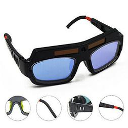 Solar Automatic Darkening Welding Goggle Safety Protective W