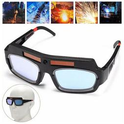 Solar Powered Auto Darkening Welding Glasses Mask Goggles Ey