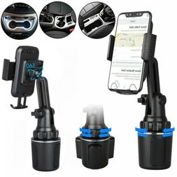 360 Degree Adjustable Car Cup Holder Stand Cradle Mount For