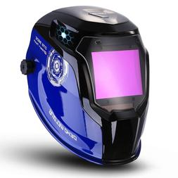 DEKO Solar Powered Welding Helmet Auto Darkening Professiona