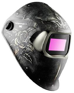 3M Speedglas Steel Rose Welding Helmet 100 with Auto-Darkeni