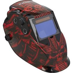 Klutch Large View Auto-Darkening Variable-Shade Welding Helm