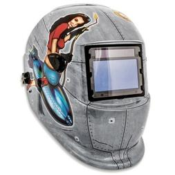 Welding Helmets Shop Iron 41288 Solar Powered Auto Darkening